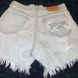 Zara Shorts - Zara   Trafaluc Denimwear   High-Rise   Distressed